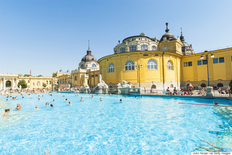10. Szechenyi thermal baths, Hungary