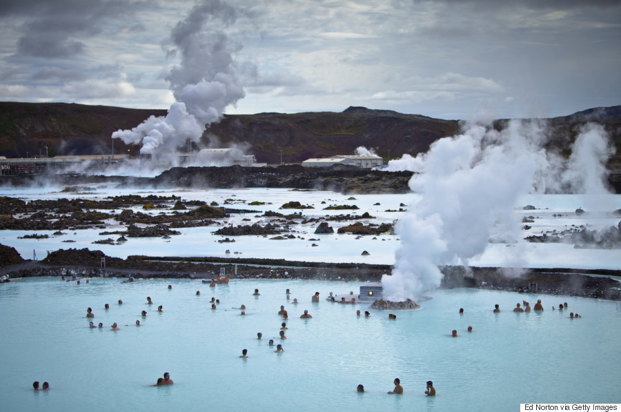 7. The Blue Lagoon geothermal spa, Iceland