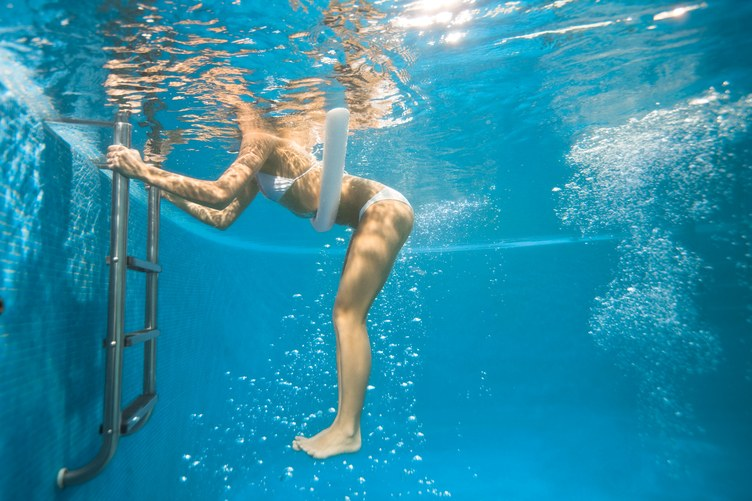 Droop Anchor Swimming Exercise with NBWS